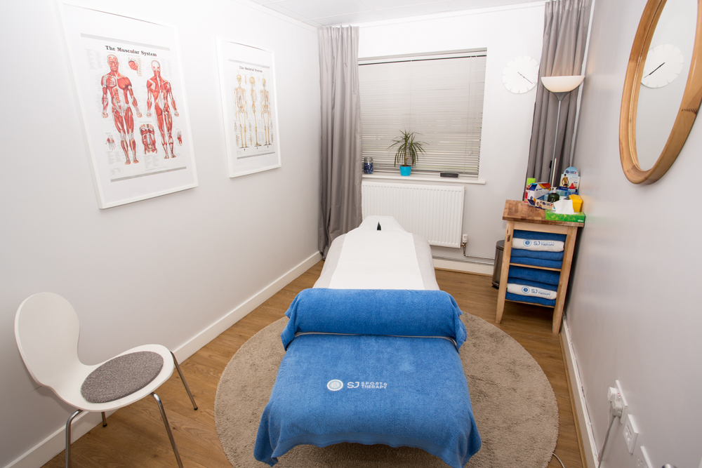SJ Sports Therapy Clinic, Meon Vale, Nr. Lower Quinton Sports Therapy Clinic